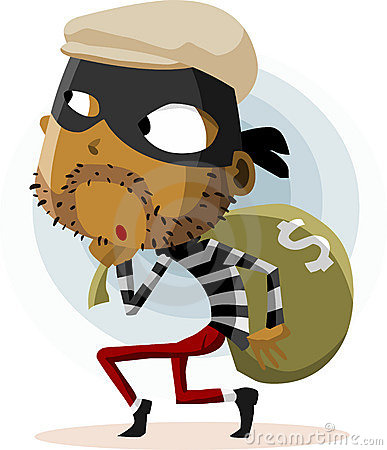 Free Criminal Thief Activity Stock Photo - 12507790
