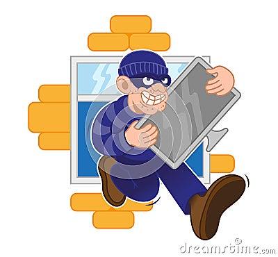 Free Criminal Think Stock Photography - 116911282
