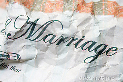Crinkled marriage