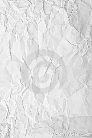 Free Crinkled Paper Stock Image - 8116531