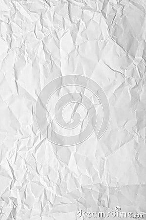 Crinkled papper
