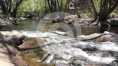 Crique de Boulder au Central Park clips vidéos