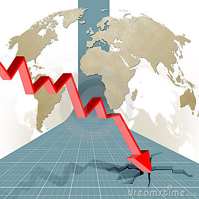 Economic crisis: output in decline