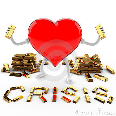 Crisis of fine gold