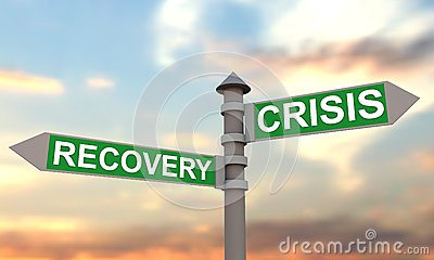 Crisis and recovery signpost