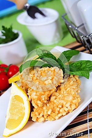 Crisp fish