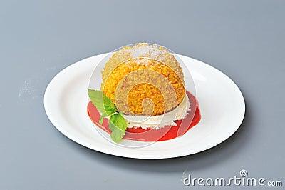 Crispy dessert