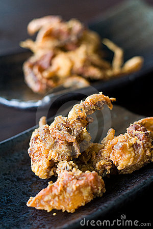 Free Crispy Fried Soft Shell Crab Stock Images - 15614034