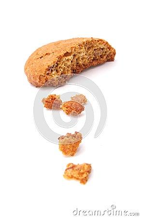 Free Crispy Oatmeal Cookie Royalty Free Stock Photo - 13773045