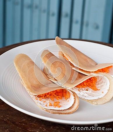 Crispy pancakes