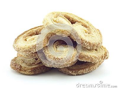 Crispy sweet cakes
