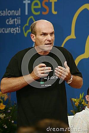 Cristian Tudor Popescu Editorial Photo
