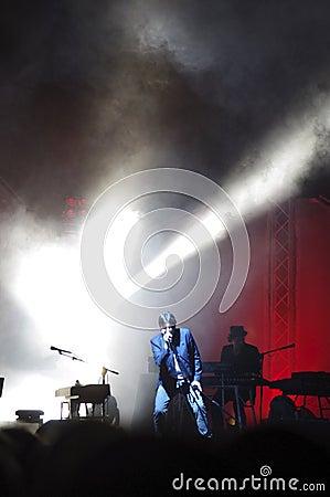 Cristiano De Andrè live Editorial Image