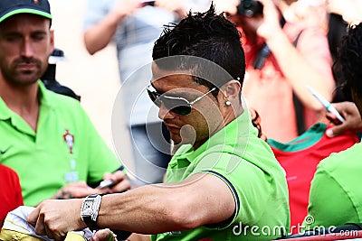 Cristiano Ronaldo Editorial Photo