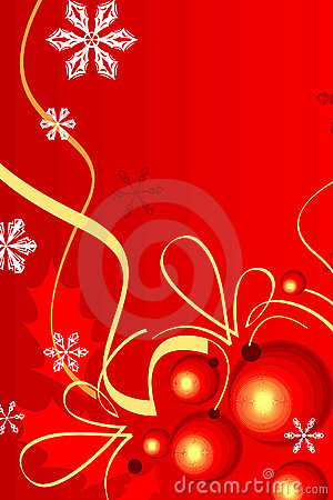 Cristmas background red