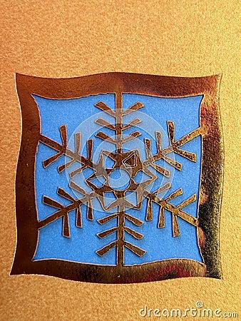Cristmas snowflake