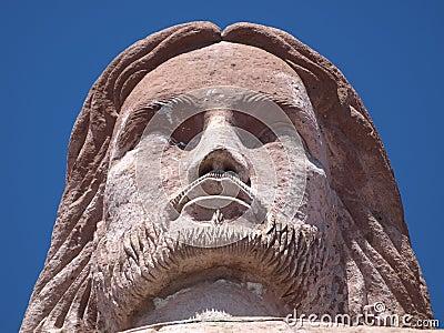 Cristo Monumental del Cerrodel Atache Taxco Mexico