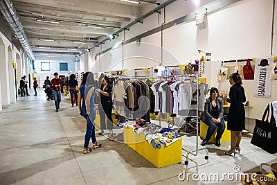 So Critical So Fashion exhibition in Milan on September 20, 2013 Editorial Photo