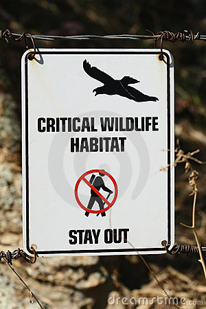 Critical Wildlife Habitat - Stay Out