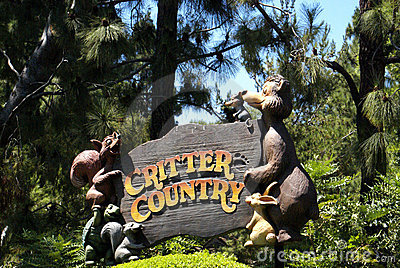 Critter Country Editorial Stock Image