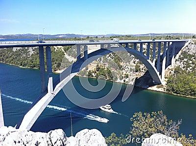 Croatia bridge