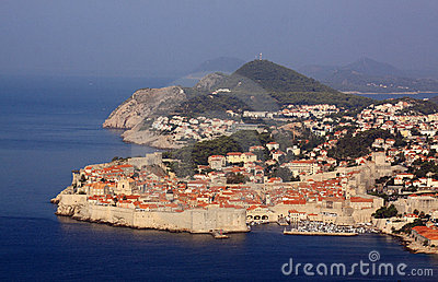 Croatia Dubrovnik UNESCO World Heritage Site