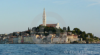 Croatia. Kind on Rovinj
