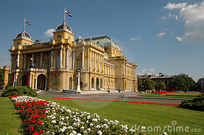 croatia national theater zagreb