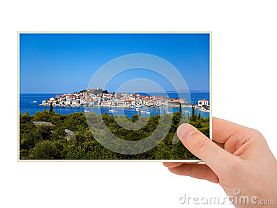 Croatia photography in hand