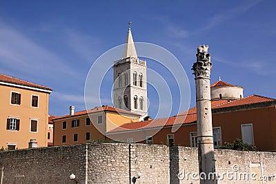 Croatia Zadar historical centre