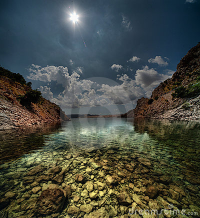 Croatian bay
