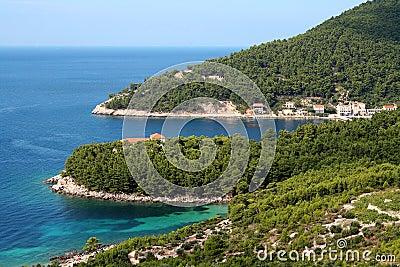 Croatian coast...