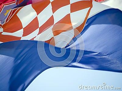 Croatian flag 2