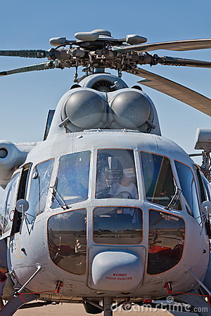 Croatian military helicopter Mi-171sh Editorial Image