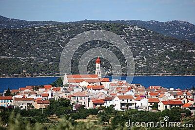 Croatian town Betina