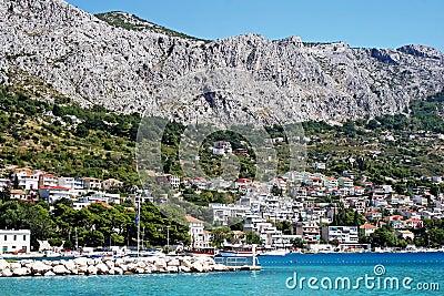 Croatian town Omis
