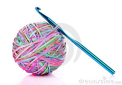Crochet Hook And Yarn Clip Art Yarn Ball And Crochet Hook