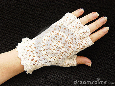 Crocheted Glove