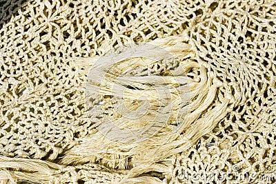 Crocheted shawl
