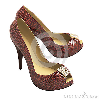 Crocodile Leather Shoes for Women