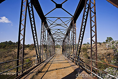 Crocodile river bridge
