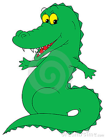 Crocodile Clip Art Stock Photos, Images, & Pictures - 855 Images