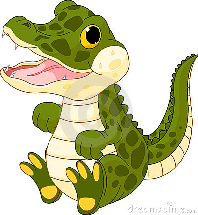 Crocodilo do bebê