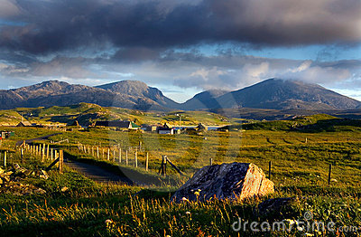 Crofting Village, Isle of Lewis, Scotland
