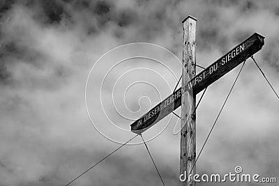 Croix de sommet