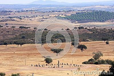 The Cromeleque do Xerez near Monsaraz, Portugal