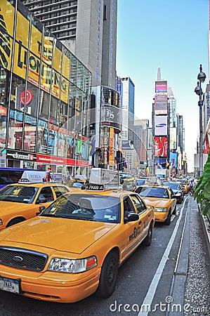 Cronometri il nyc quadrato Fotografia Stock Editoriale