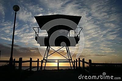 Cronulla life guard tower