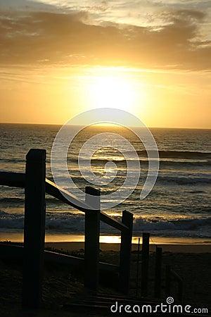 Cronulla sun rise