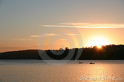 Cronulla sun set
